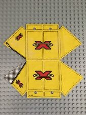 Lego PARTS Minifigure Extreme Team Cloth Fabric Yellow Tent 6584 (Tent Only)