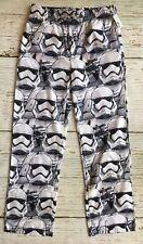 NEW Star Wars Storm Trooper Mens Sleep Pants Pajama Bottom Size S