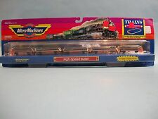 Micro Machines Trains High-Speed Bullet Galoob #6470