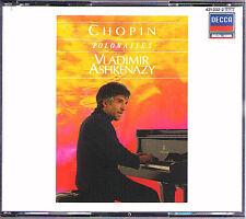Vladimir ASHKENAZY: CHOPIN 16 Polonaises 2CD Decca Adieu Op.26 40 44 53 61 70