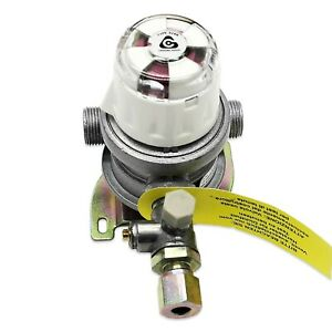 AUTOMATIC GAS BOTTLE CHANGE OVER VALVE 30mb OUTPUT FOR BUTANE 8mm PIPE OUTLET