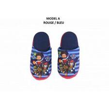 ROUGE 27/28 (UK 9/10) * Chausson pantoufles PAT PATROUILLE (mousse) NEUF l'unité