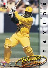 1995 Futera World Series Cricket Card #2 Mark Taylor