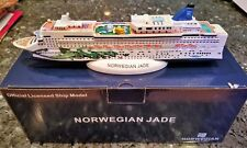 NCL Norwegian Cruise Line JADE Cruise Ship Model