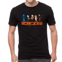 The Fifth Element 8Bit Cast Men's Black T-shirt NEW Sizes S-2XL