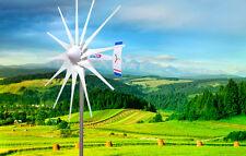 2500 W WindZilla PMA 12V AC 12 Blade Wind Turbine Generator+180A Slip Ring + Hub