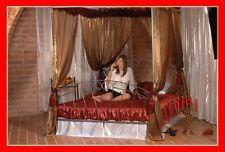Romantisches handgeschmiedetes doppel Himmelbett Pamela 140 x 200 + Lattenrost