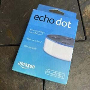 Amazon Echo Dot - 2nd Gen - White - Smart Speaker **NEW / FREE SHIPPING**