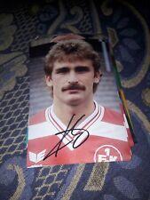 Signiertes Foto Stefan Kuntz 1.FC Kaiserslautern  NEU