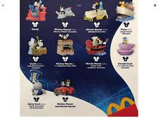 McDonalds 2020 Disney Mickey & Minnie Runaway  Complete set of 10