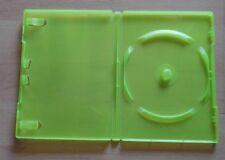DVD Hüllen Grün 20 SCHUTZHÜLLEN Leerhüllen für Xbox 360 Spiele DVD Guter Zustand