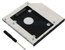 2nd HDD Hard disk SATA SSD Caddy Adattatore per Lenovo IdeaPad Z500 Scambiare