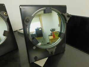 """Nikon V-12 Comparator Double Sided Mirror Assembly 7-3/4"""" Diameter"""