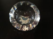 New ListingSwarovski Crystal Chaton Paperweight w/ Coa 238167