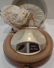 Vintage 1960's Universal Hairdryer Ostridge case New Britain,Conn,USA Model 9932
