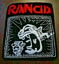 "Us Seller! Rancid ~ 3.6"" x 3.1"" Iron On Patch (Black/Red) ~ Punk Rock ~ New"