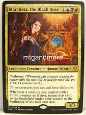 Magic comandante 2017 - 1x marchesa, The Black Rose-Mythic Rare