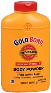 New Gold Bond Original Strength Medicated Body Powder 4 OZ.