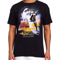 OFFICIAL Back to the Future Men's T-Shirt Movie Poster Marty McFly