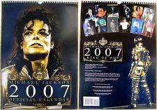 Michael Jackson Calendrier 2007 Calendar Kalender Poster Posters OFFICIAL