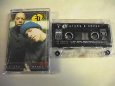 3D  Alpha & Omega  Music Cassette Czech Republic