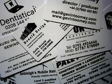 200 Printed Plastic Business Cards