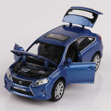 LEXUS RX450 SUV 1:32 Model Cars Toys Sound & Light Gifts Alloy Diecast Blue New