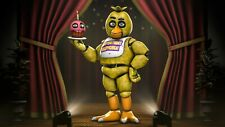 Five Nights at Freddys Gold94Chica Poster | Sizes A4 to A1 UK Seller | E016