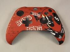 Deadpool Soft Touch, Front Shell For Xbox One S Controller - New - Model 1708