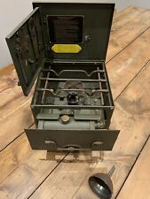 British Army - Field Cooker / Stove - 'No 2 & 3' - c/w Tools and Funnel - 1974