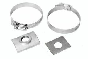 FiTech FI 60012 Oxygen Sensor Bung Clamp-On 18 mm x 1.50 Females Steel Natural