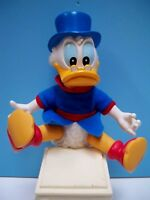 RARE VINTAGE SCROOGE McDUCK DISNEY'S VINYL FIGURE PLUSH DOLL by APPLAUSE 1980's
