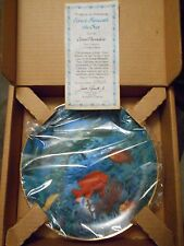 Forest Beneath The Sea Plate Decorative Fish Limited Edition COA Ocean Animal