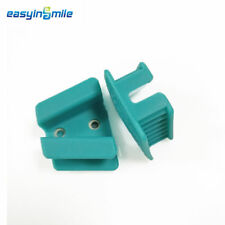 2PCS of EASYINSMILE Silicone Bite Block Dental Autoclavable Mouth Props M-size