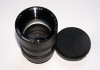 Nice and Rare PALLAS 135 mm 2.8 lens 2.8/135 mm M42 mount 8 blades