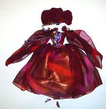 Barbie Doll Sized Fashion Dress Costume For Barbie Doll fn000