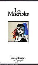 """Colm Wilkinson """"LES MISERABLES"""" Terrence Mann '87 Original Cast Souvenir Program"""