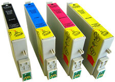 4 PACK (1 SET) OF PRINTER INK CARTRIDGES FOR EPSON STYLUS PHOTO RX240 R245 RX520