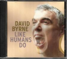 Talking Heads DAVID BYRNE Like Humans Do RARE VERSION PROMO Radio DJ CD Single