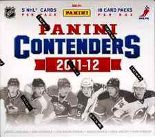 2011/12 PANINI CONTENDERS HOBBY HOCKEY BOX  / BUY 2 OR MORE BOXES SAVE $5 !