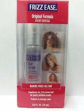 John Frieda Frizz Ease Original Formula Hair Serum, 0.8 oz + Makeup Sponge
