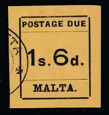Malta, Sc J10 (SG D10), used