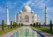 A4  Indian Taj Mahal Poster Size A4 Wonder Of The World Poster Gift #15742