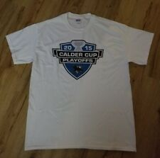 Worcester Sharks 2015 Calder Cup AHL Playoffs T-Shirt men's size-Large White