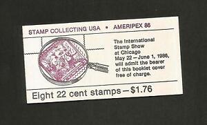 BK # 153 - Scott # 2201a  -  AMERIPEX 86 - 8 (22 Cent) Stamp Booklet - NH - MINT