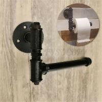 Industrial Vintage Toilet Paper Roll Holder Washroom Bathroom Wall Mounted