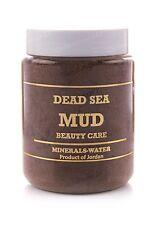 500g barro Mar Muerto de Jordania en seco * NATURAL * Piel Grasa * Celulitis * atópica * cosméticos *