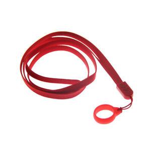 Practical Phone Lanyard Colorful Nylon Rope Keyring Neck Strap Camera USB Holder