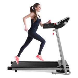 Folding Treadmill Running Jogging Machine Gym Fitness Electric Motorized w/ MP3