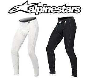 Alpinestars ZX Nomex Bottoms FIA Approved Anthracite/White Fire-retardant 475419